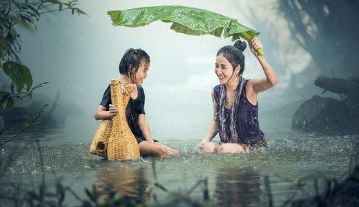 待ち合わせがあるのにゲリラ豪雨でずぶ濡れ、どうする?